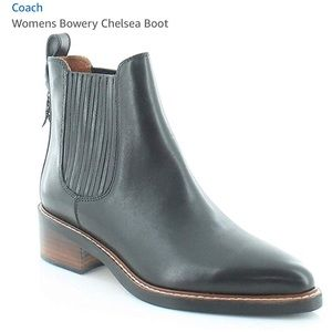 MAKE OFFER! Women's Coach Chelsea Leather Boots